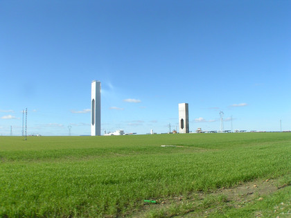 Abengoa PS20 Power Tower in Sevilla, Spain